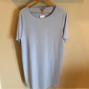 Light Blue short sleeve top